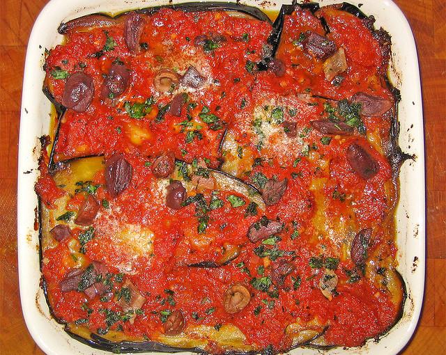 Włoska kuchnia i także krajowe mięso sezonowane