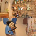 Drewniane ręcznie produkowane anioły i szopki bożonarodzeniowe idealne na upominek